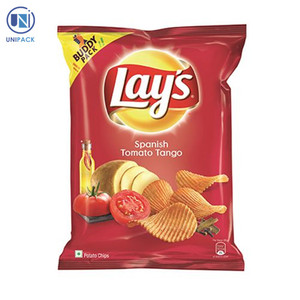 Good quality plastic packaging of lays potato chips