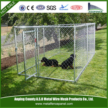 china hot sale temporary dog fence metal puppy pens hot dog pen factory