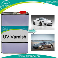 UV car body paint surface protection UV repairing paint for cars and headlight