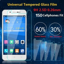 Universal 9H HD Premium Real Tempered Glass Screen Protector Explosion Proof Protective Film For LG UMI Philips Vodafone Alcatel