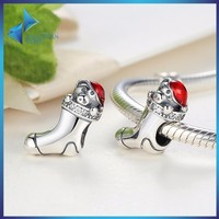 925 jewellery gift for christmas silver socks charms