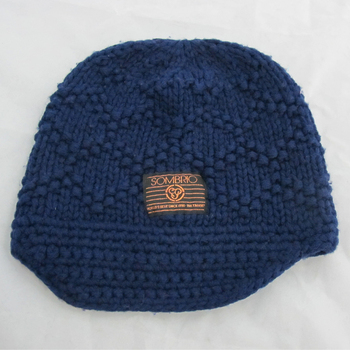 Iceland Yarn Chunky Knitted Pattern Beanie Hat Visor Knit Hat Buy