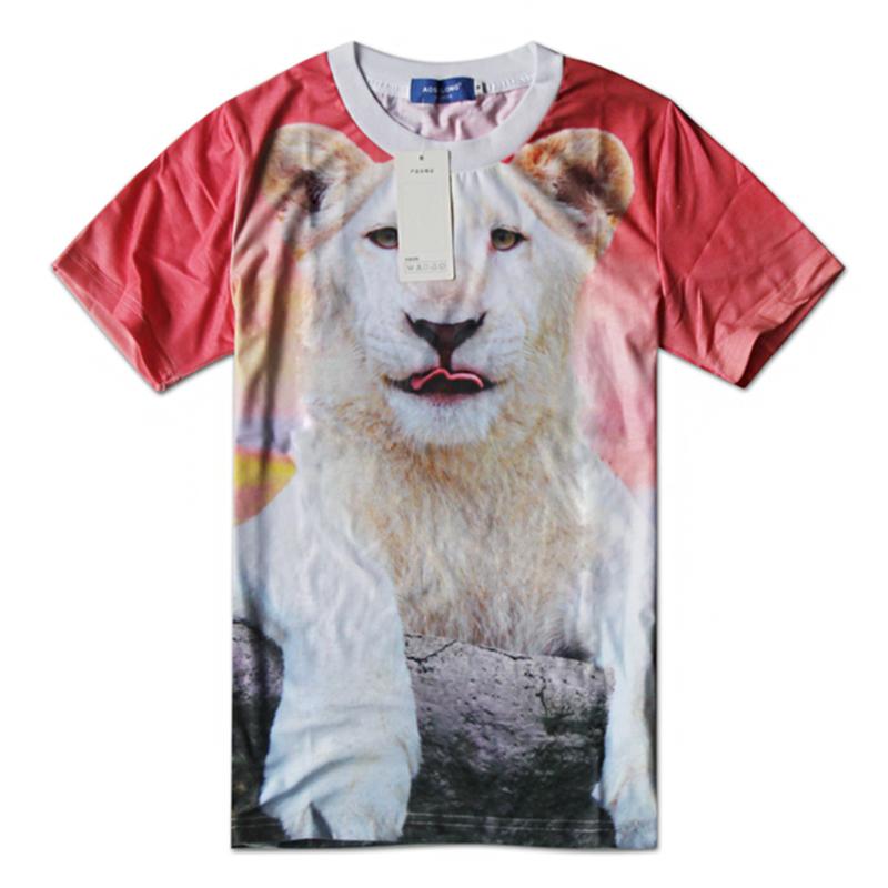 527483b832c Get Quotations · Animal tshirt Camiseta 3D clothing oversized short sleeve  3d printed t-shirts Plus man t