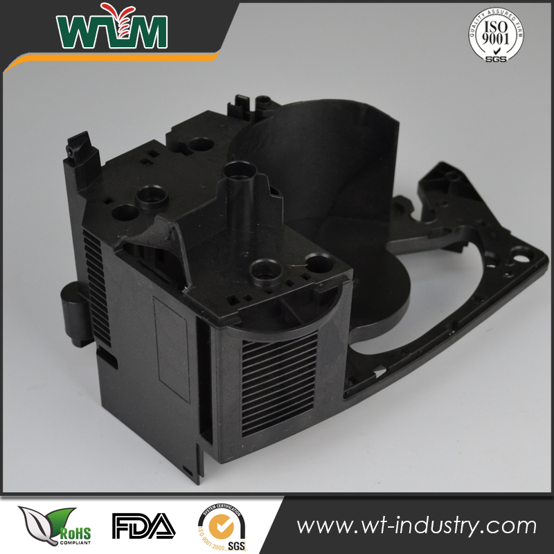 Complicated Structure ABS+PC Motor Bracket Plastic Injection Molding Parts for Printer Components