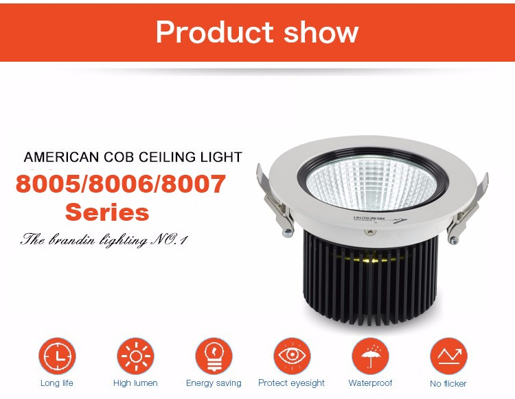 Leimove round dimmable led downlights custom made for wholesale-4