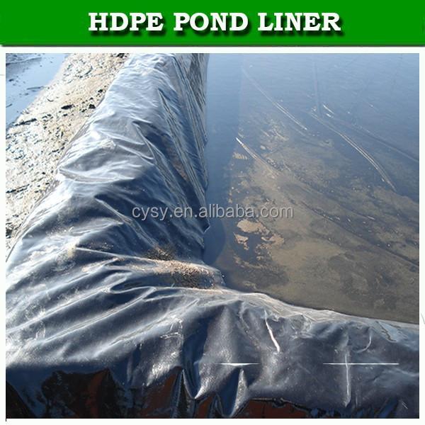 Impermeabilizaci n hdpe estanque de peces liner membrana for Plastico para estanques de peces
