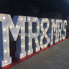 Impermeable <span class=keywords><strong>led</strong></span> gigante carpa carta luz letras