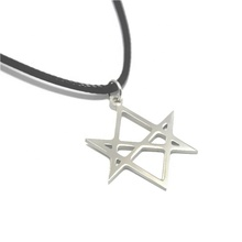 Unicursal Hexagram Symbol charm necklace Emblem Amulet Talisman necklace