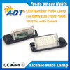 CE RoHS E-mark Approved!!! 2015 Internal Warnning canceller automotive led license plate light