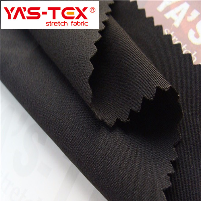 92% polyester 8% spandex 150D twill FDY yarn fabric used for cloth material fabric