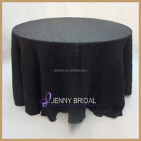 TC040D Made-in china black round wood grain cheap table cloth