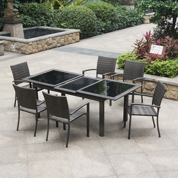 China Factory Modern Funky Outdoor Dining Furniture Homecrest