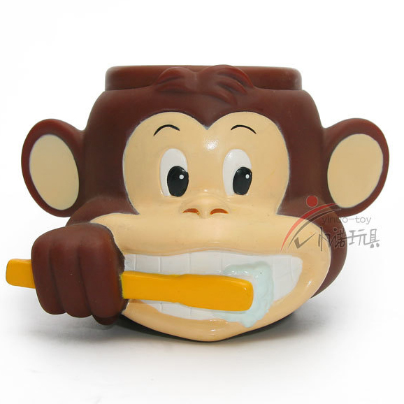 Monkey Brushing 3D Mug Cups Candy Container Water Cup