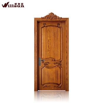 Top Sale Plain Solid Wood Doors Indian Wood Carving Doors Buy