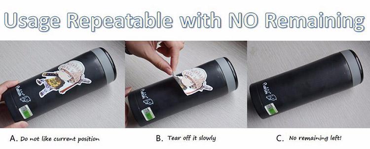 À prova de balas Escuteiros Adesivos BTS Kpop Decoração Celular Decal Adesivo PVC