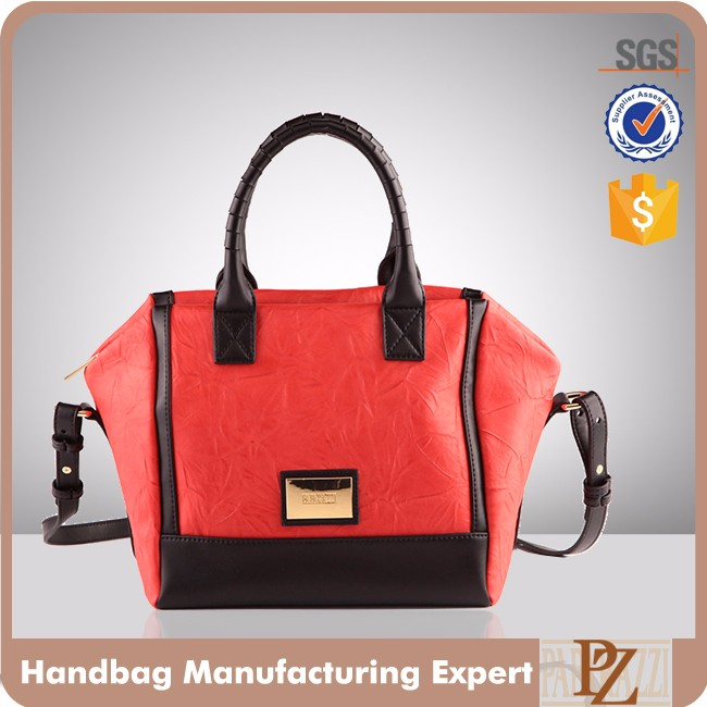 5146 -2016 designer ladies satchel hangbag with long shoulder strap