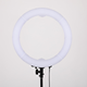 Dimmable 5300K-5700K Photography selfie makeup LED Ring Light with phone holder