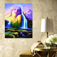 Fast Supplier Zhejiang Factory Diy Diamond Abstract 3D Portrait Painting