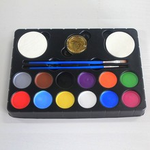 Walmart supplier watercolor face and body paint set for artist painting