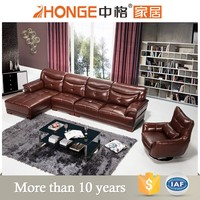 arab antique furniture brown leather european style sectional sleeper sofa