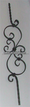 Antique cheapest wholesale wrought iron veranda balusters luxurious designs