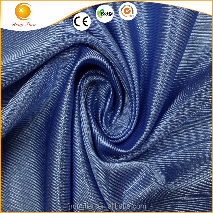 Soft and thick polyester breathable running shoes mesh fabric