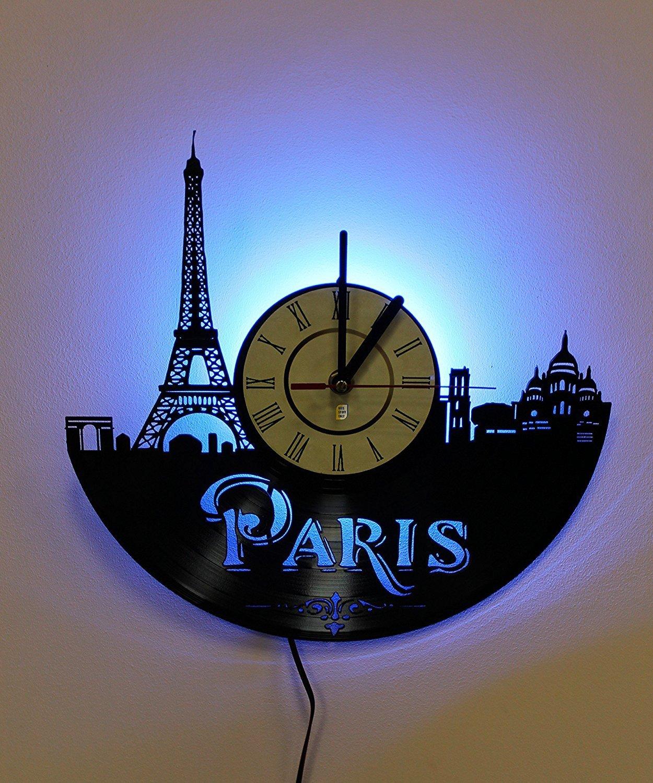 Paris Eiffel Tower Wall Light, Night Light Function, Original Home Interior Decor, Wall Lamp, Perfect Gift