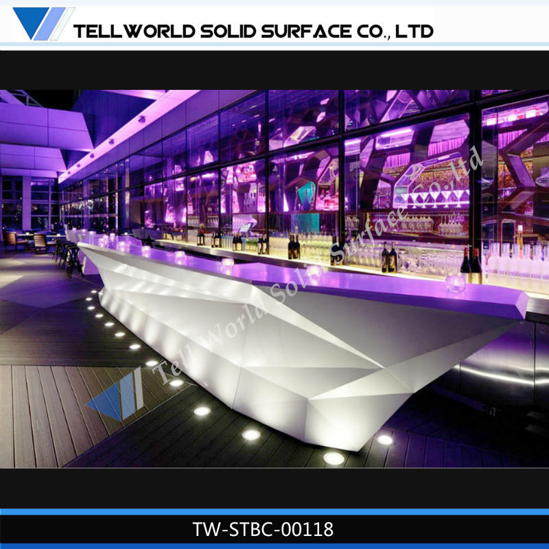 Comptoir Bar Design. Cool Attractive Meuble Comptoir Bar Materiales ...