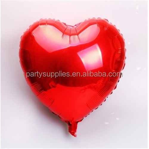 Supersize red heart shap foil air balloons wedding party say love decorations marriage ballon supplies
