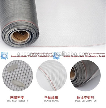 Stainless Steel Mosquito Fly Proof Wire Mesh/aluminum Mosquito Fly ...