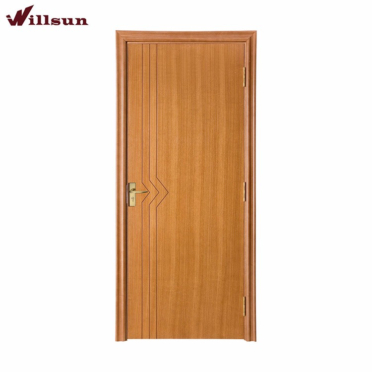 Engineer Veneered hollow core solid wood hotel room doors