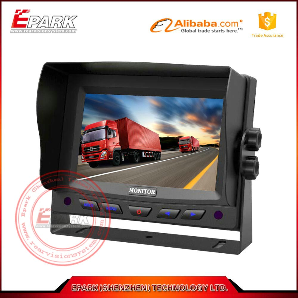HD car monitor tft 5 inch LCD screen in car monitor