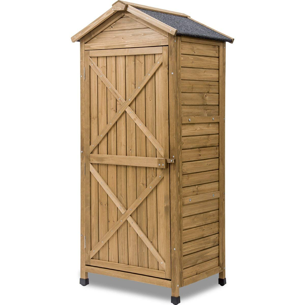 Get Quotations Leisure Zone Outdoor Wooden Garden Shed Lockers Fir Wood With Workstation Design 2