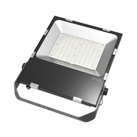 Asymmetrical Construction Site Motion Sensor 120w 120 Watt Flood Light Housing 100w Led Floodlight
