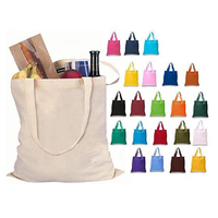 Fashion design beach bag cotton canvas tote bag promotional with rope handles