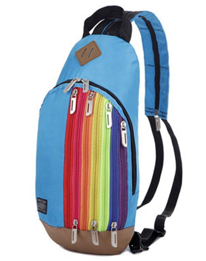 Ecokaki(TM) Casual Cute Mini Backpack Shoulder Bag Cross-body Chest Pack Messenger Bag for Kids & Girls & Boys
