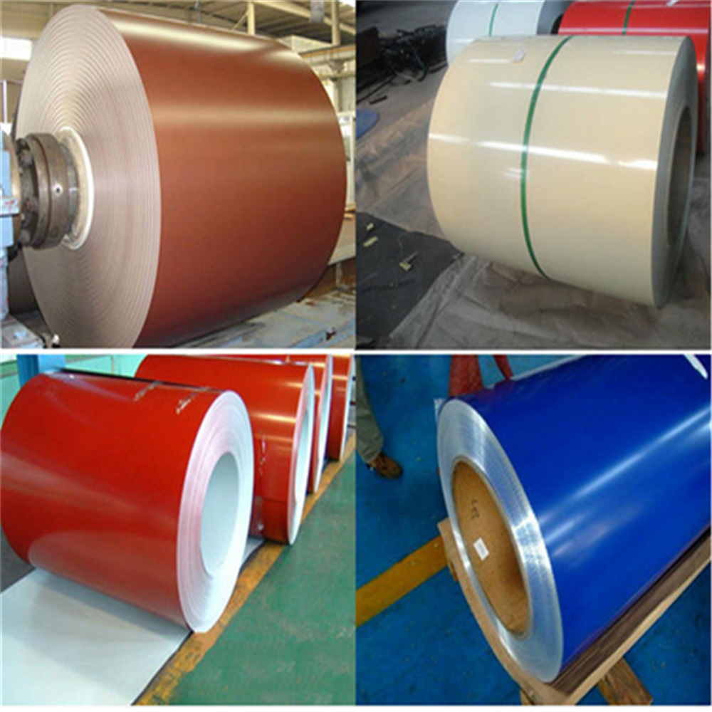 0.125-5.0mm thickness premium quality ppgi steel coil