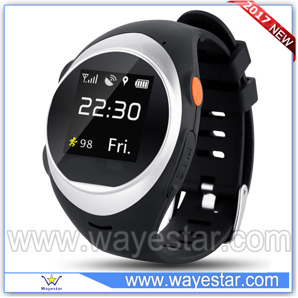 For latest 5g mobile phone 2017 new gps smart watch