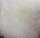 High quality soft artificial fox fur fabric long pile faux fox fur material for clothes collar bag shoes