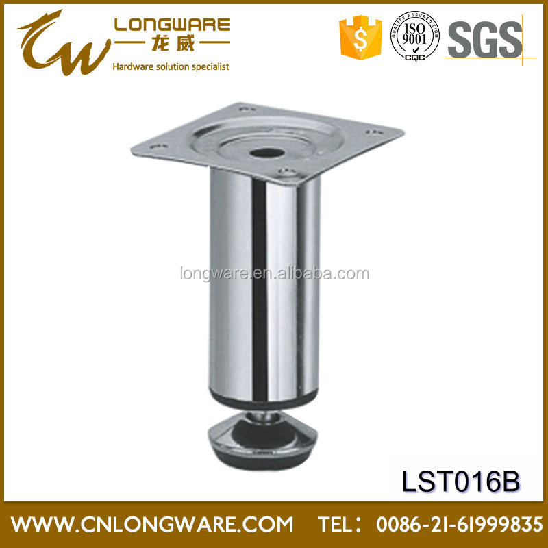 Hot sell high quality Chrome modern stands cast iron metal sofa legs