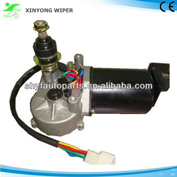 Wheel loader windshield wiper motor 24v 50w wiper motor for Wiper motor power supply