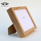Solid wood photo frame material handmade art home decor photo frame