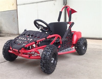 2015 new 1000w 36v 4 wheele twin engine go kart for kids with CE certificate
