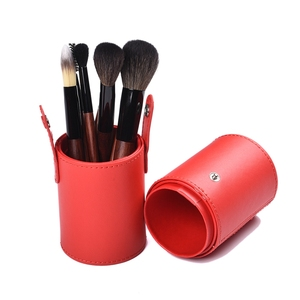 Custom Logo Makeup Brush Set 7pcs Professional Fiber Brush For Makeup