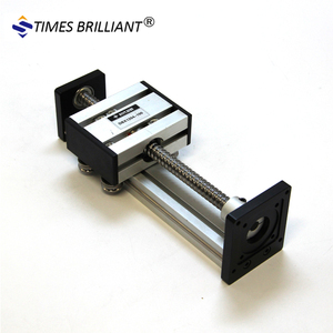 100mm stroke Low Price Motorized Ball Screw Linear Actuator Guide Rail For  Cutting