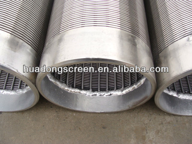 6'' Wire Mesh Screen Well Filter Pipe/Johnson water well filter