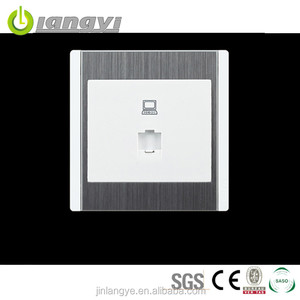 Fashion Eco-Friendly Save Power Steel Frame Wall Computer Socket