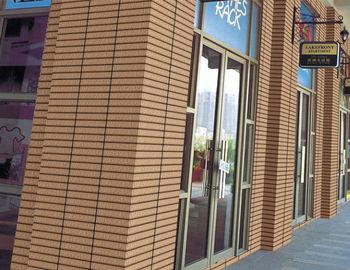 Moderna esterno rivestimenti di facciata rivestimenti in
