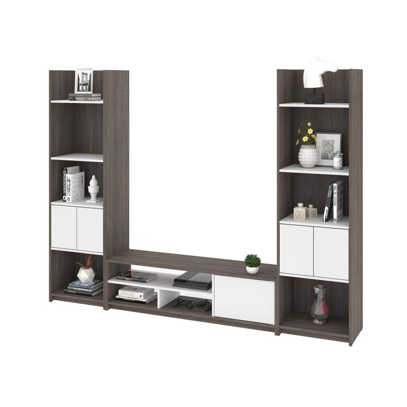 Floating Wall Mount Entertainment Center Tv Stand With 3 Piece Set Including Shelving Units From China Manufacturer Display Floor
