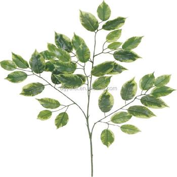 Alta Calidad Al Por Mayor Plástico Artificial Ficus Rama De Árbol De ...